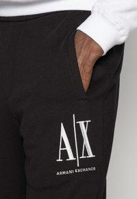 Armani Exchange - JOGGER - Pantaloni sportivi - black - 4