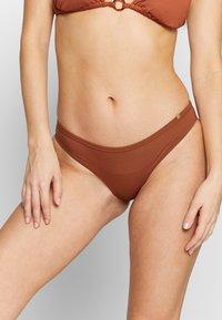 LOVE Stories - EVE - Bikini bottoms - chocolat - 0