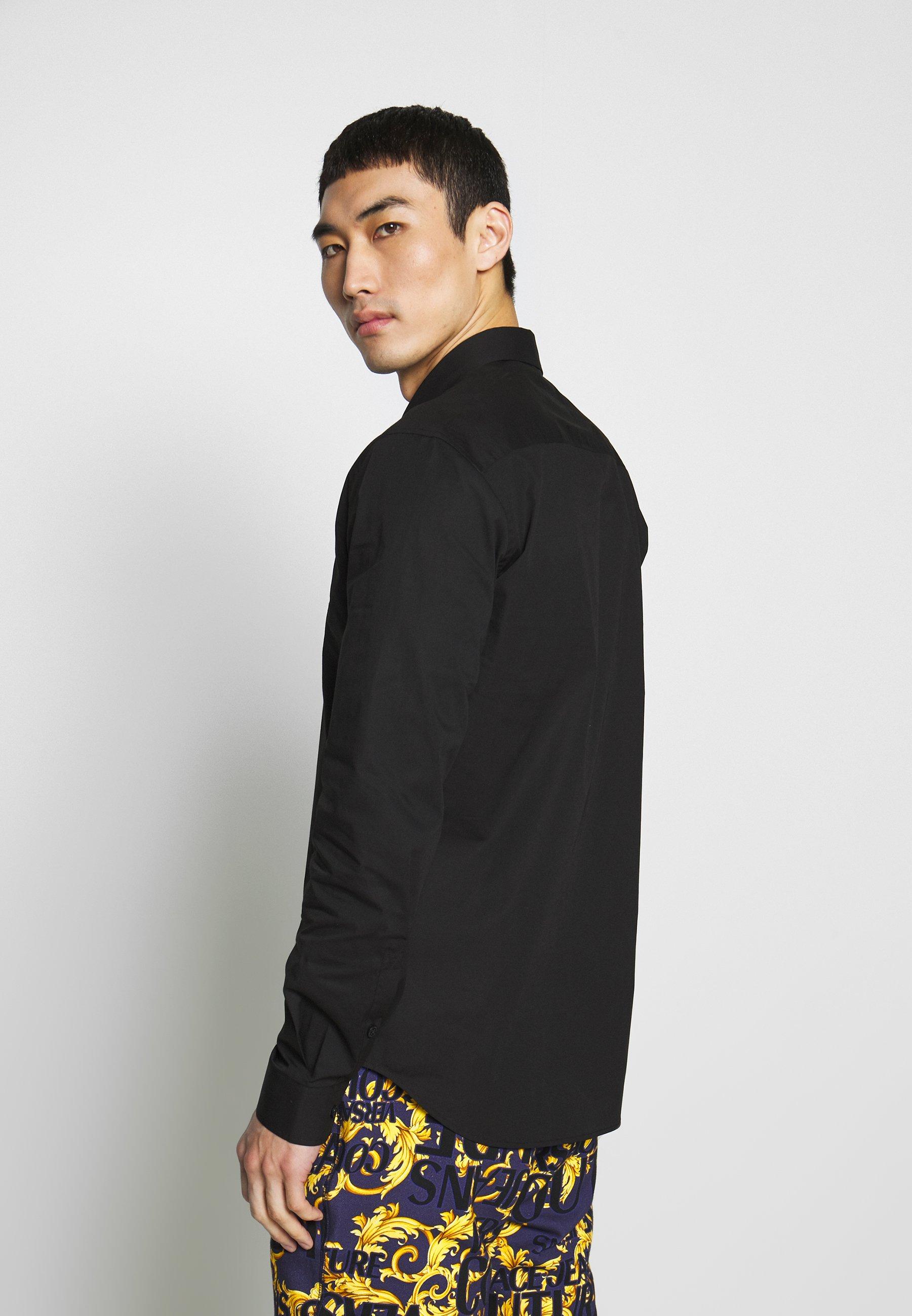 Versace Jeans Couture PATCH  SHIRT - Chemise - black