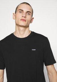 HUGO - DERO - T-shirt - bas - black - 3