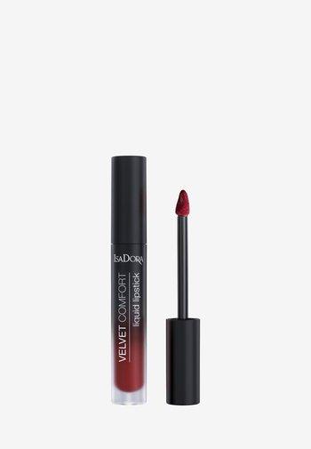 VELVET COMFORT LIQUID LIPSTICK - Liquid lipstick - cranberry love