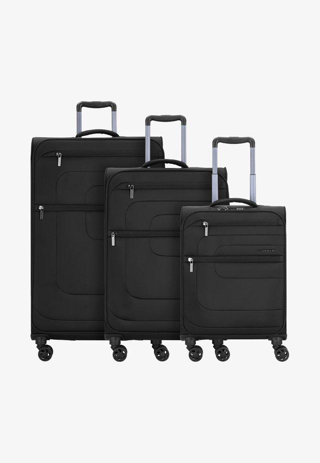 SET - Luggage set - black
