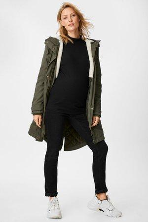 2in1 Coat - Płaszcz zimowy - green