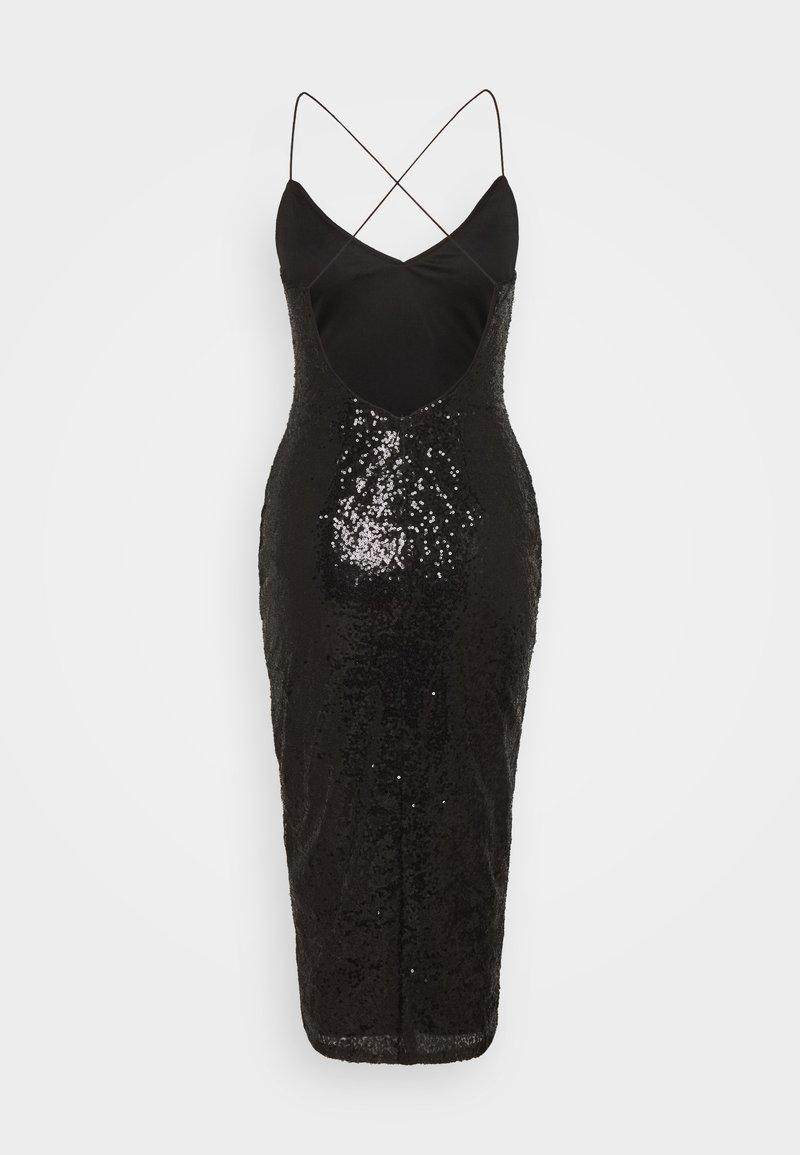 own it slip dress - cocktailkleid/festliches kleid - black