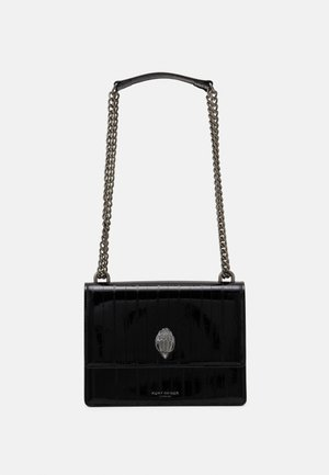 SHOREDITCH CROSS BODY - Across body bag - blackpatent