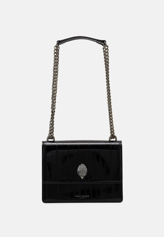 SHOREDITCH CROSS BODY - Borsa a tracolla - blackpatent