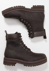 Timberland - COURMA GUY BOOT WP - Snörstövletter - dark brown - 1