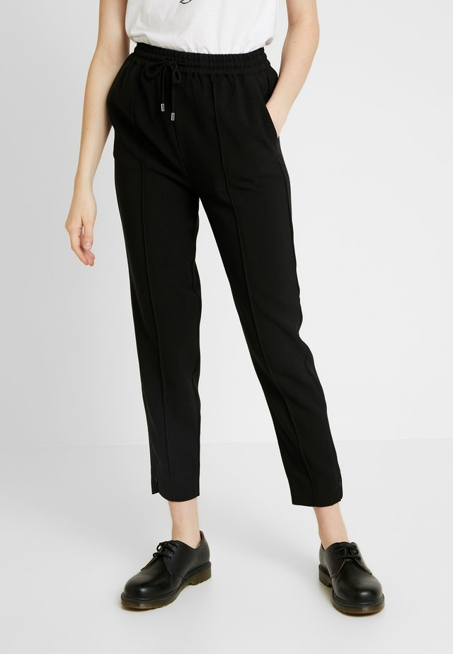 FONT PANTS - Trousers - black
