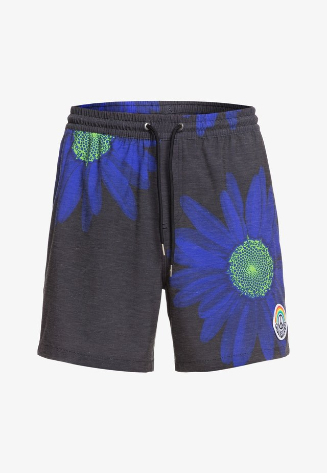 PEACE IN THE JUNGLE - Badeshorts - nebulas blue dazey