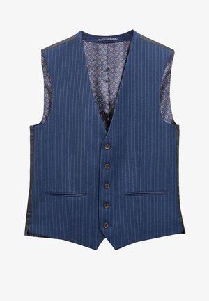SLIM FIT  - Suit waistcoat - blue