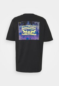 Levi's® - TEE UNISEX - Print T-shirt - caviar - 7