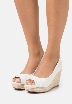 WHIRL - Høye hæler med åpen front - natural
