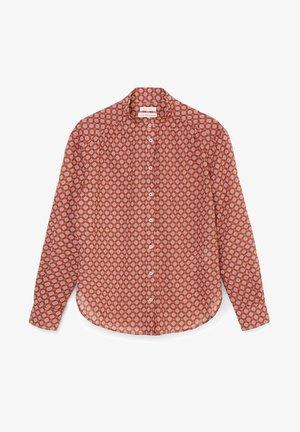 VOILE - Button-down blouse - dark red