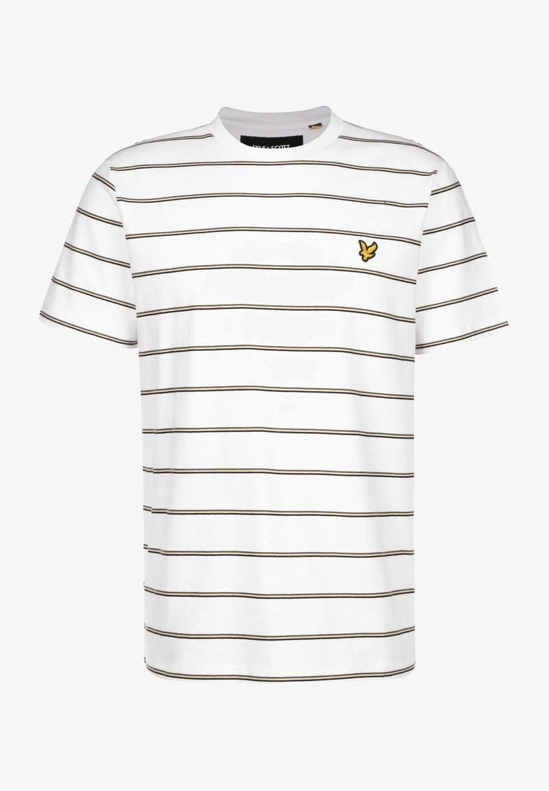 Lyle & Scott - T-shirt imprimé - white