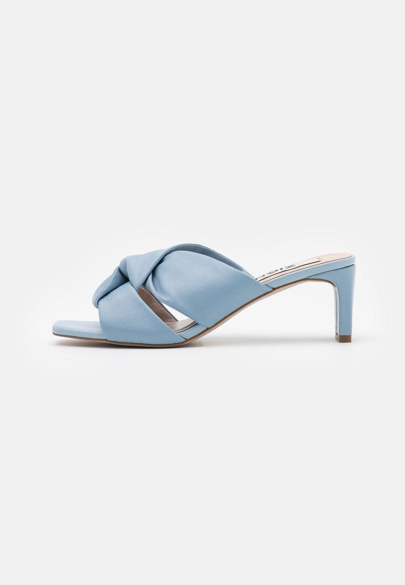 Zign - Pantofle na podpatku - blue