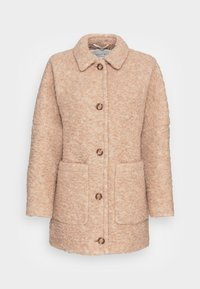 Marc O'Polo - CURLY OVERSIZED WIDE SLEEVES PATCHED POCKETS TURN - Winter jacket - soft caramel - 0