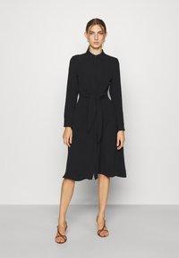 Lauren Ralph Lauren - TRIPLE GEORGETTE DRESS - Day dress - polo black - 0