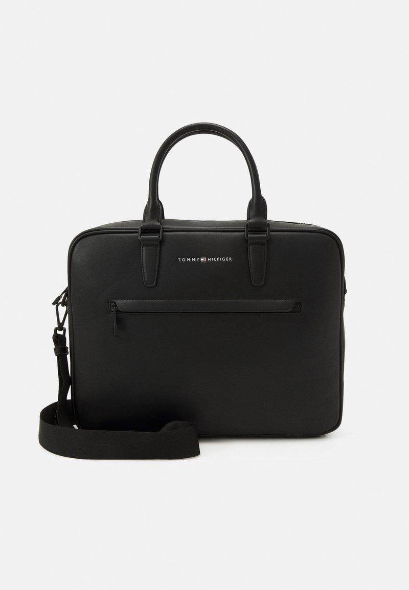 Tommy Hilfiger - SLIM COMPUTER - Laptop bag - black