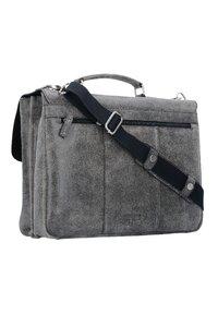 Leonhard Heyden - BOSTON - Briefcase - grey - 1