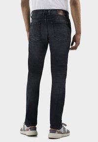camel active - Straight leg jeans - black ink blue - 2
