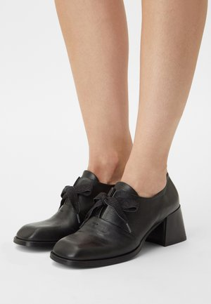 VELIA - Lace-up heels - nero