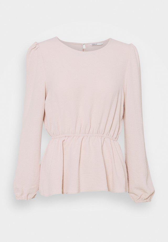 ONLMETTE O NECK - Blouse - pink