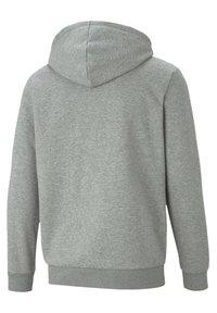 Puma - Zip-up hoodie - medium gray heather - 4