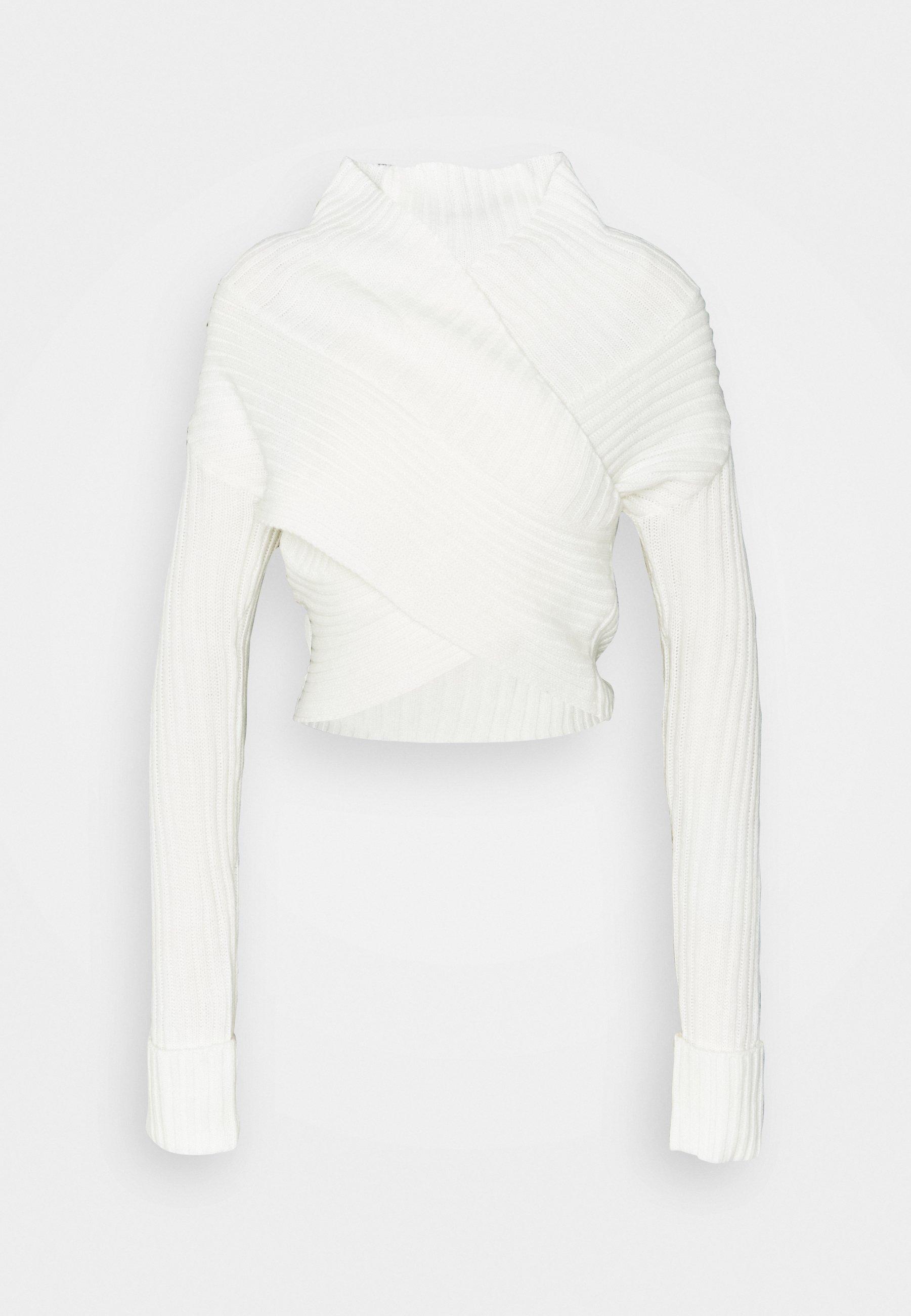 Femme WRAP FRONT JUMPER - Pullover