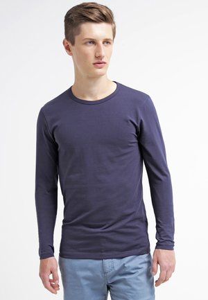 JJBASIC  - Longsleeve - navy blue