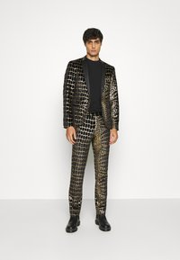 Twisted Tailor - BEGBY SUIT - Suit - black gold - 0