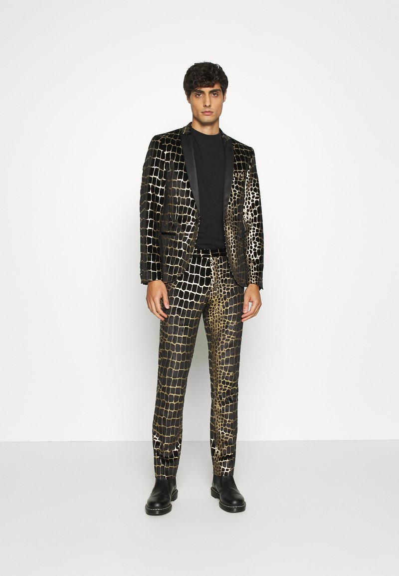 Twisted Tailor - BEGBY SUIT - Suit - black gold