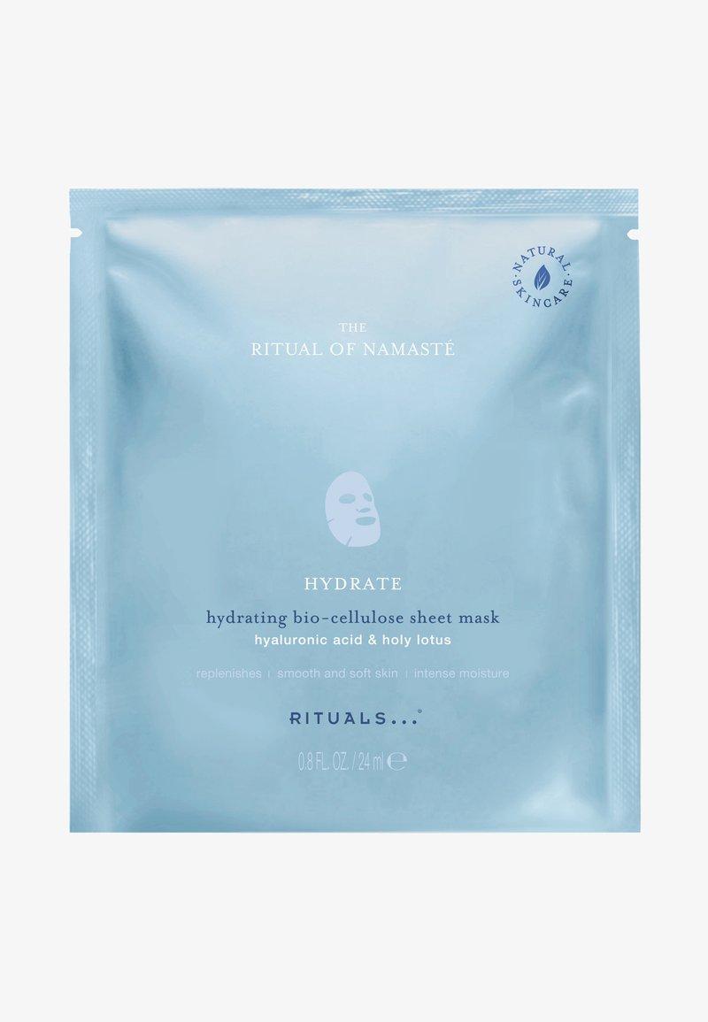 Rituals - THE RITUAL OF NAMASTÉ HYDRATING SHEET MASK - Face mask - -