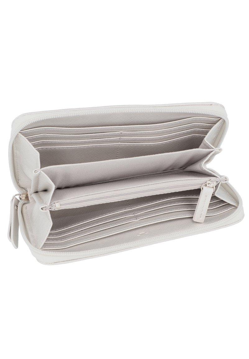 Tom Tailor Trento Medium Flap Wallet Portefeuille Silver Argent NEUF