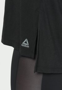 Reebok - SUPREMIUM LONG SLEEVE - Funktionsshirt - black - 5