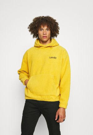 COZY UP HOODIE UNISEX - Kapuzenpullover - cool yellow