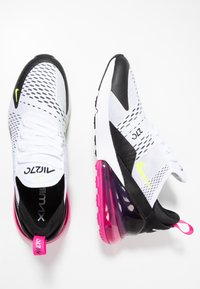 Nike Sportswear - AIR MAX 270 - Trainers - white/volt/black/laser fuchsia - 1