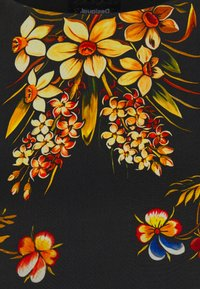 Desigual - VEST BUTTERFLOWER DESIGNED BY MR CHRISTIAN LACROIX - Freizeitkleid - black - 5
