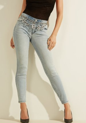 Slim fit jeans - himmelblau