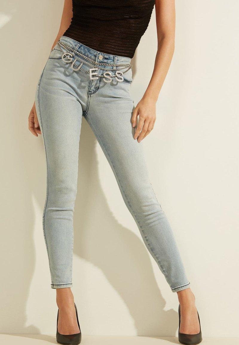 Guess - Slim fit jeans - himmelblau
