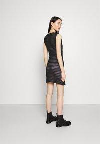 Vila - VISEILA  DRESS FESTIVAL - Jumper dress - black - 2