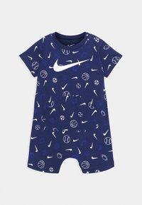 Nike Sportswear - PRINTED ROMPER UNISEX - Jumpsuit - blue void - 0