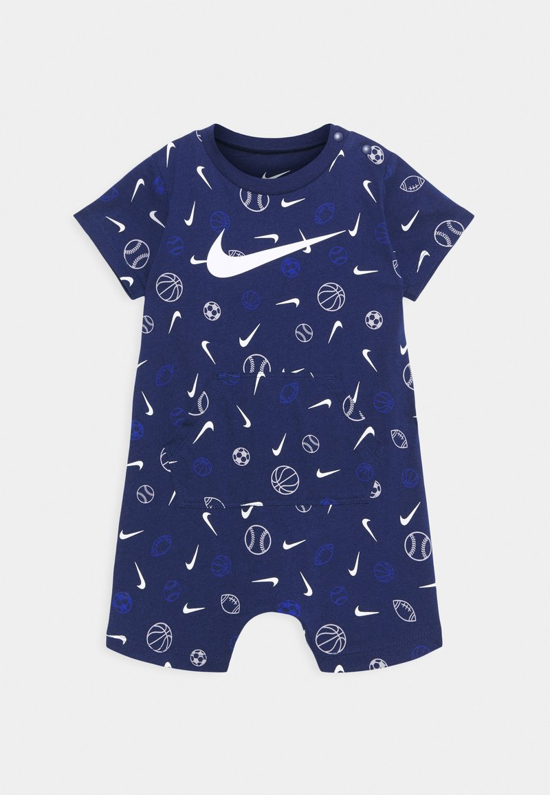 Nike Sportswear - PRINTED ROMPER UNISEX - Jumpsuit - blue void