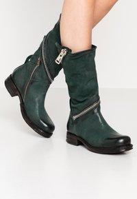 A.S.98 - Cowboy/Biker boots - balsamic - 0
