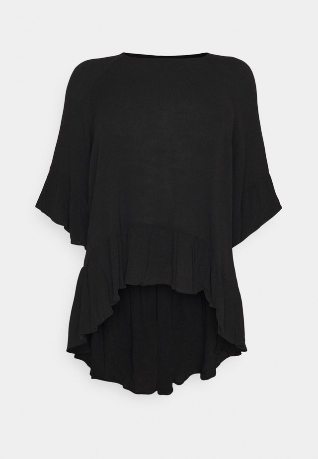 SEEKER - Long sleeved top - black