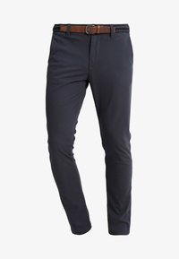 Selected Homme - SLHSLIM JAMERSON PANTS - Chinosy - blue nights - 3