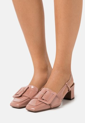 HEELED SLINGBACK - Decolleté - warm pink