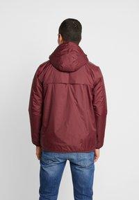 K-Way - UNISEX CLAUDE ORESETTO - Light jacket - red amaranto - 2