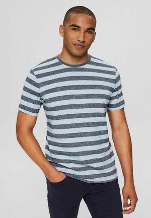 REGULAR FIT - Print T-shirt - light blue
