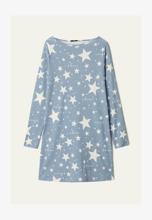 MIT STERNENPRINT - Nightie - aufdruck sky blue star print