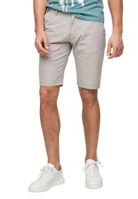 QS by s.Oliver - Shorts - beige heringbone - 3
